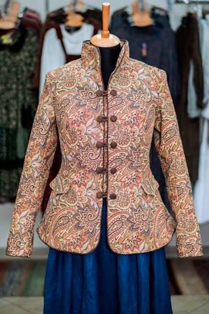 Стильная русская одежда